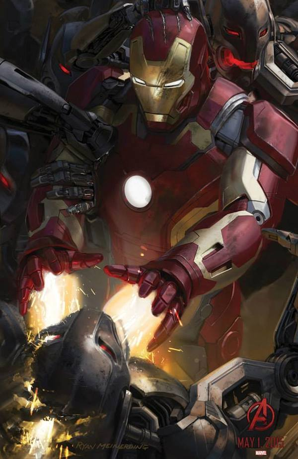 Iron Man Avengers: Age of Ultron Concept Art