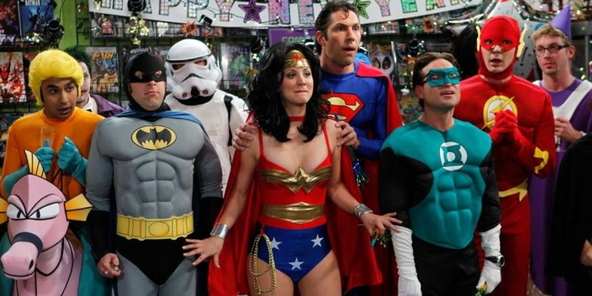 The Big Bang Theory cast as Justice League characters