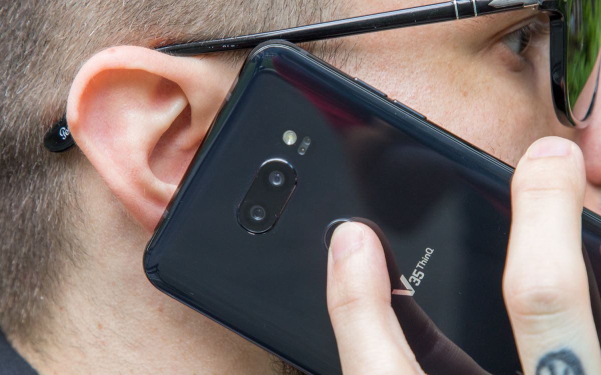 LG V35 ThinQ Review: Here We Go Again | Tom's Guide