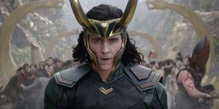 Thor: Ragnarok Loki in battle