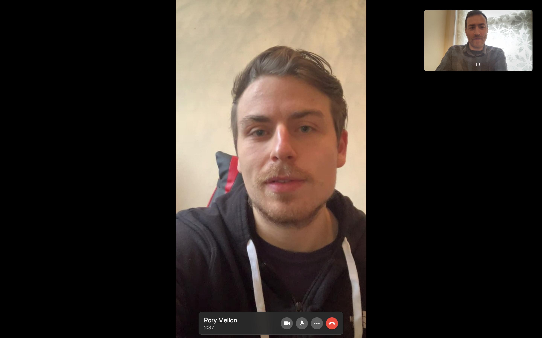 WhatsApp video calling on desktop