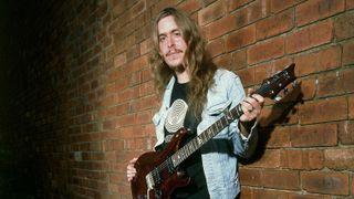 A press shot of Opeth's Mikael Akerfeldt