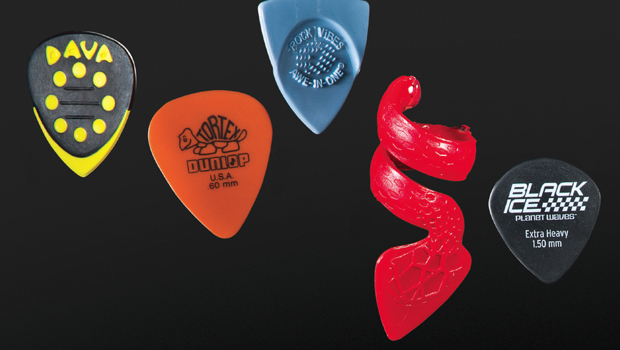 Strange Guitar Picks