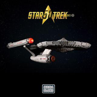 USS Enterprise Mega Bloks