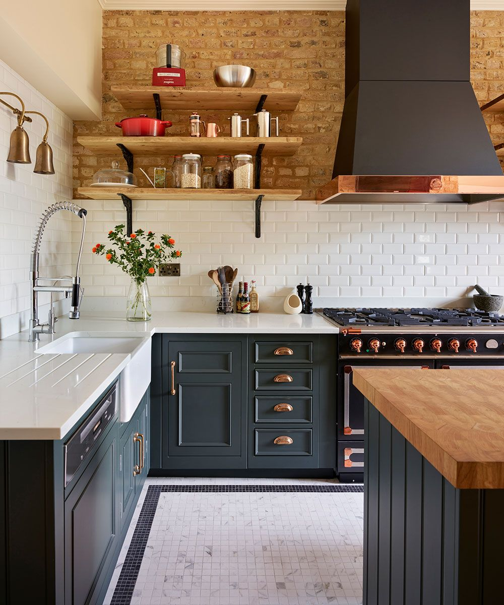 Green Kitchen Ideas Cabinets Walls And More In Shades Of Sage Olive And Emerald Homes Gardens