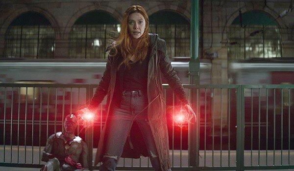 Scarlet Witch Elizabeth Olsen Avengers: Infinity War
