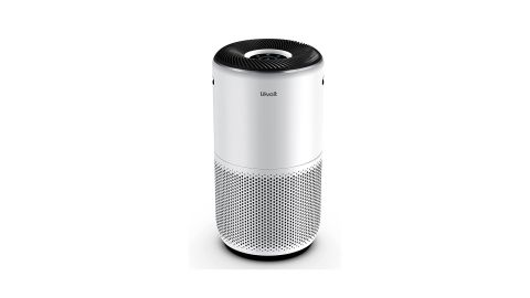 Levoit 400s air purifier review: Image shows the air purifier against a white backdrop.