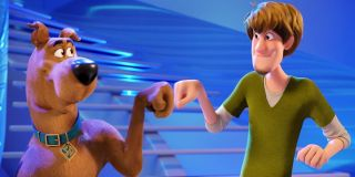 Scooby-Doo (Frank Welker) and Shaggy Rogers (Will Forte)