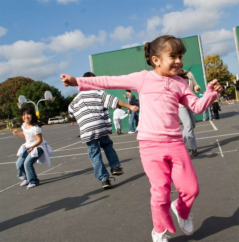Playground Games For Kids Schools