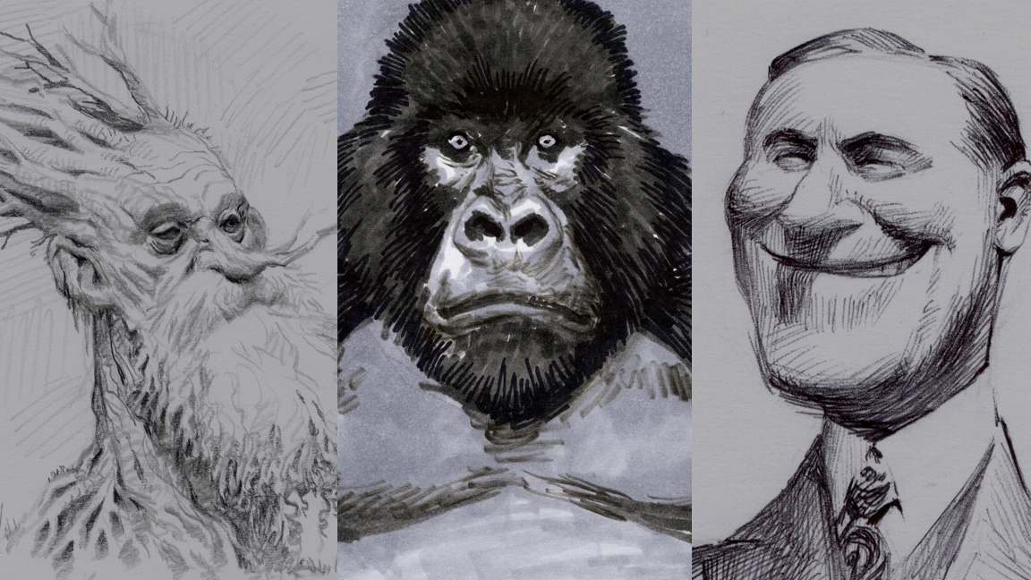 9 top tips for drawing in black and white