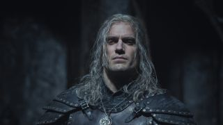 Geralt of Rivia in The Witcher season 2, played by Henry Cavill.