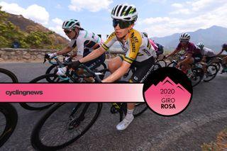 Australian road race champion Amanda Spratt (Mitchelton-Scott) on stage 6 of the 2020 Giro Rosa
