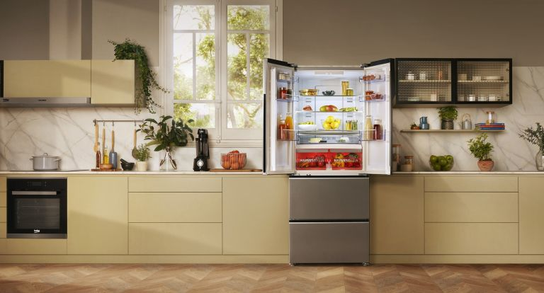 10 celebrity fridges to admire - Beko HarvestFresh fridge freezer