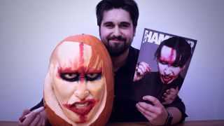 Marilyn Manson pumpkin