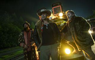Curfrew shows Action men Guz Khan, Billy Zane and Jason Thorpe