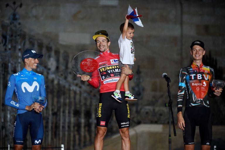 Primoz Roglic wins the 2021 Vuelta a España