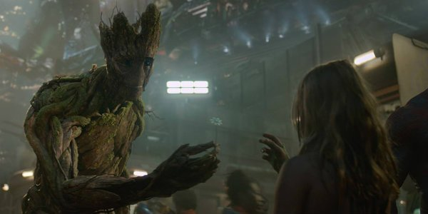 groot guardians of the galaxy flower girl