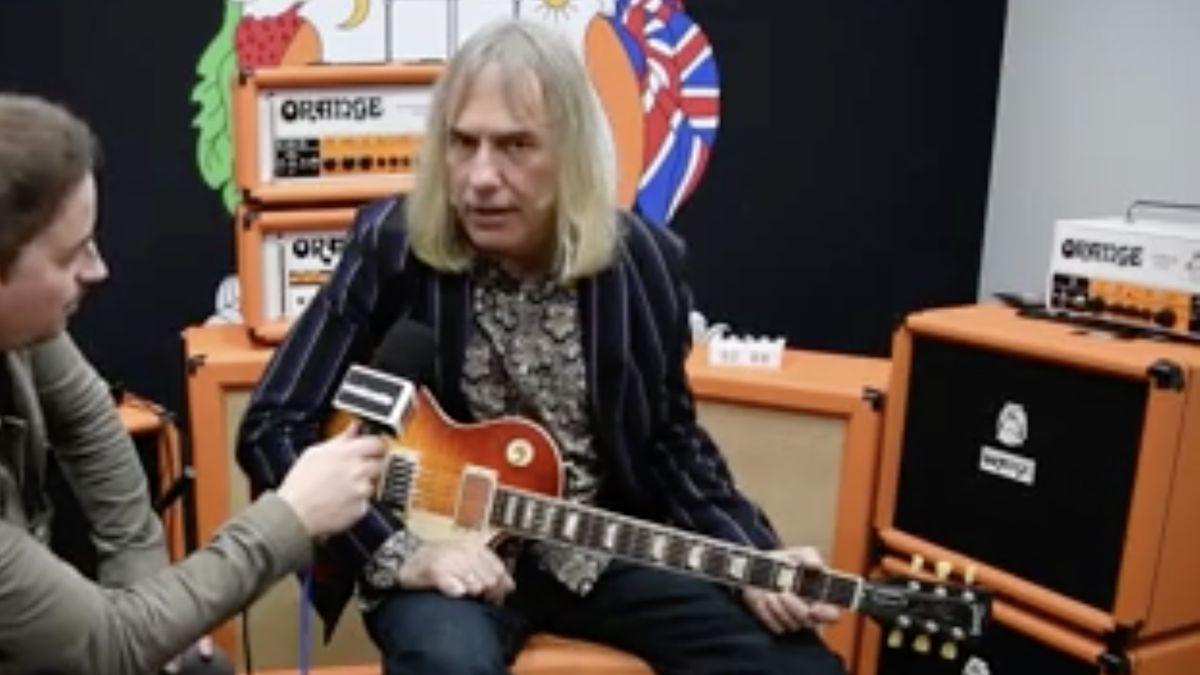 NAMM 2020 VIDEO: Orange unveils Terror Stamp pedal amp