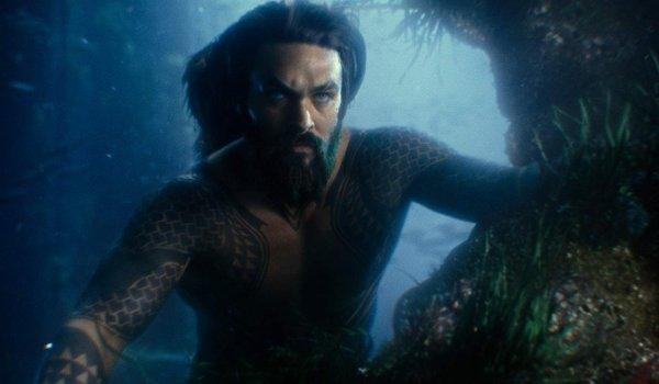 Justice League Aquaman doing some underwater surveilance