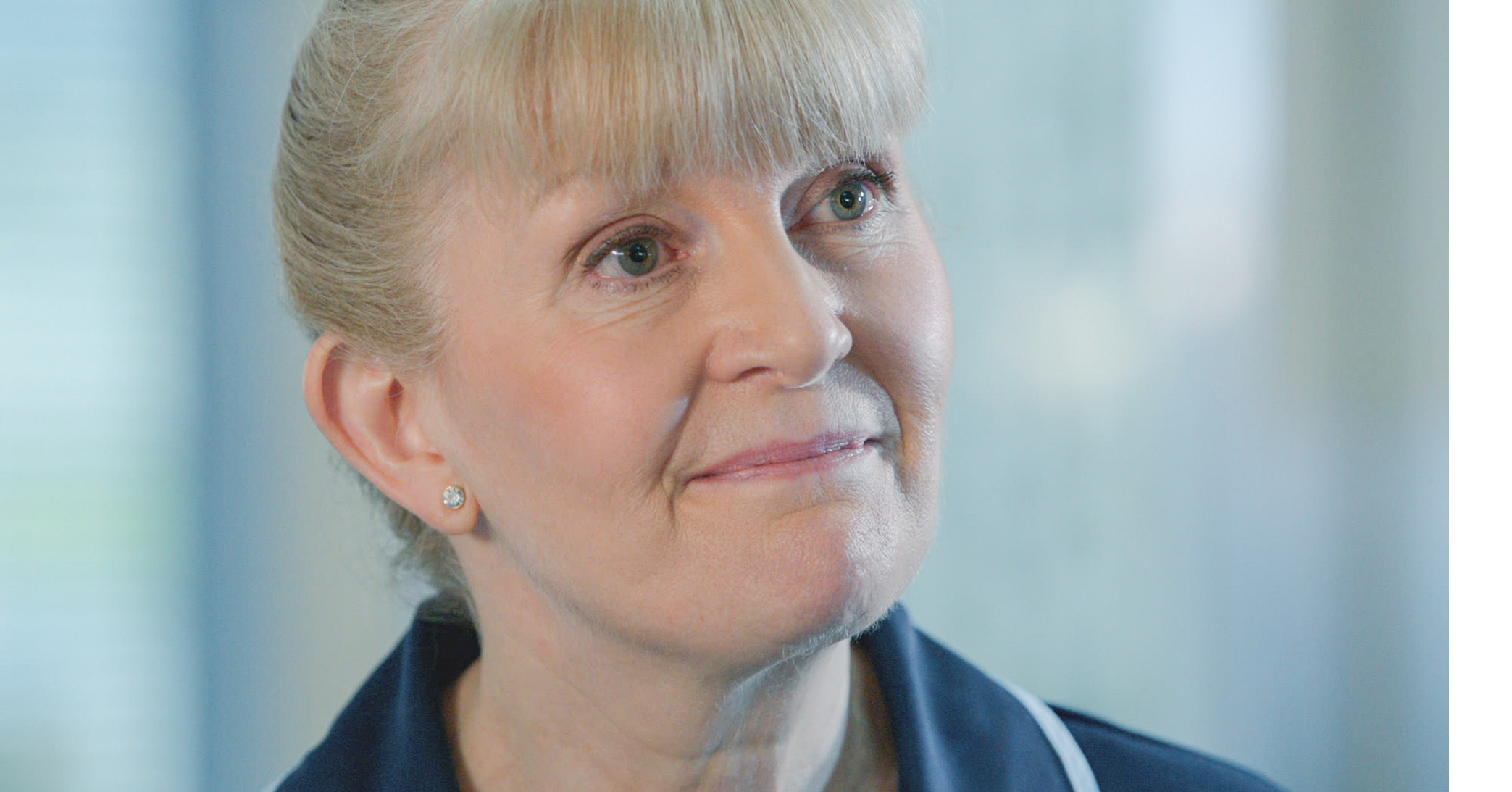 Cathy Shipton returns to her iconic role of Duffy in Casualty