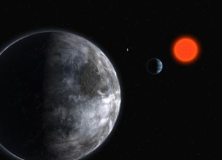 Red Dwarf Star Gliese 581
