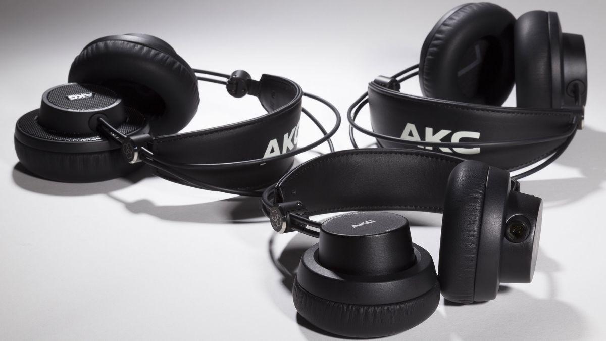 Akg Releases K175 K245 K275 Foldable Studio Headphones