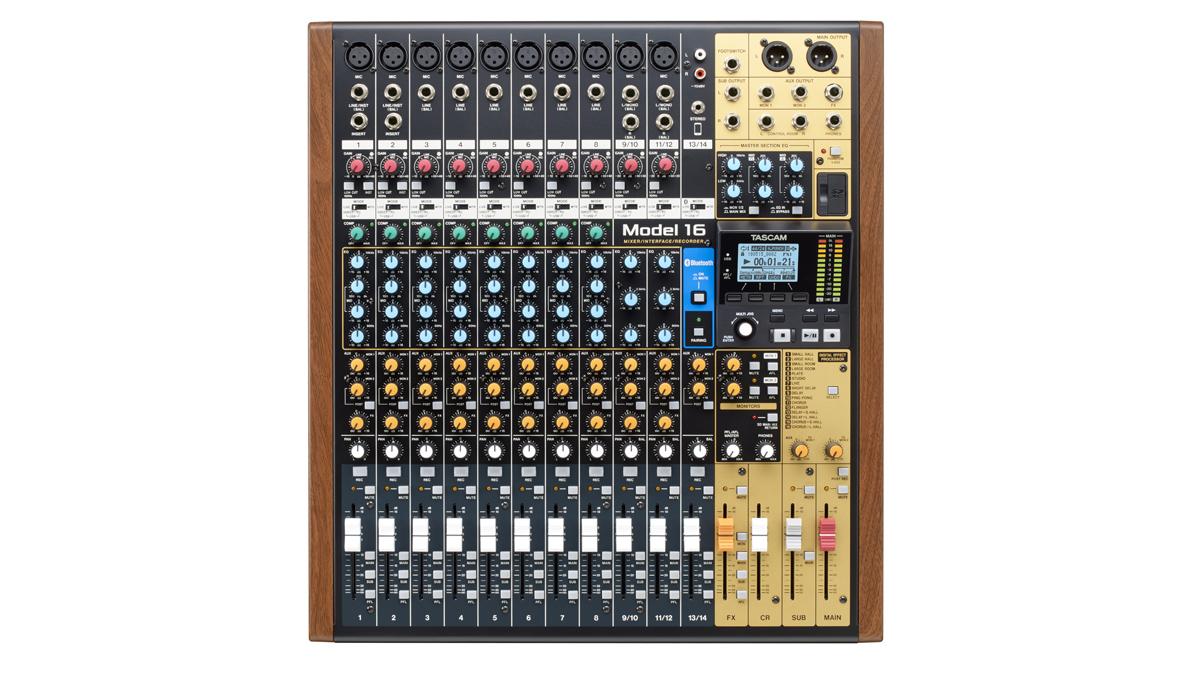 Tascam's Model 16 digital recorder 'feels like an analogue mixer' | MusicRadar