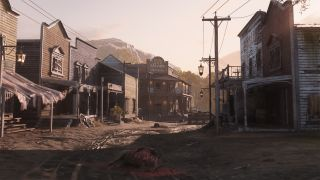 Hunt: Showdown's new Lower DeSalle location with saloon in background