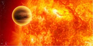 Exoplanet remains