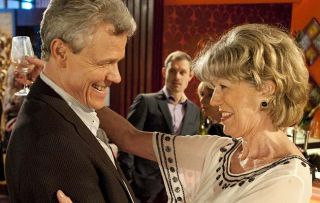 Coronation Street - Marc Selby (Andrew Hall) with Audrey