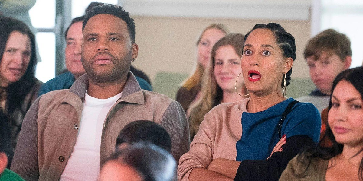 Anthony Anderson and Tracee Ellis Ross in black-ish