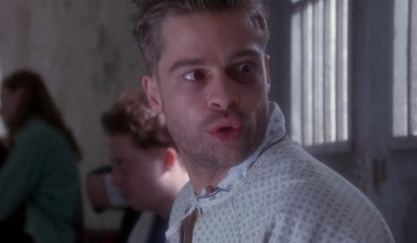 Brad Pitt in 12 Monkeys