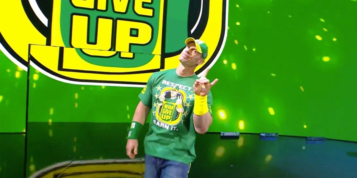 John Cena at Money in the Bank 2021