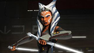 "Ahsoka Tano, one-time padawan to Anakin Skywalker before he fell to the Dark Side, will return in live-action form in ""The Mandalorian"" season two on Disney Plus."