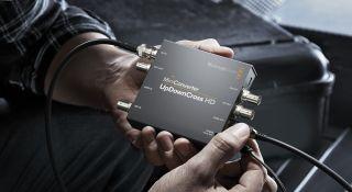 Blackmagic Design Announces Newblackmagic Mini Converter Updowncross Hd Broadcasting Cable