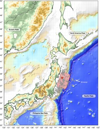 Japan trench tectonic setting