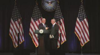 Mike Pence and James Mattis