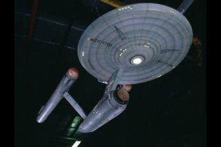 """""""Star Trek"""" is coming back to TV in 2017 via CBS Television Studios. Here, the original Starship Enterprise model hangs in the Smithsonian's National Air and Space Museum."""