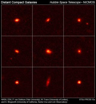 Young Galaxies Surprisingly Packed with Stars