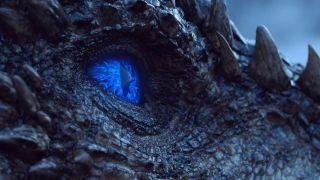 Viserion in Game of Thrones season 7