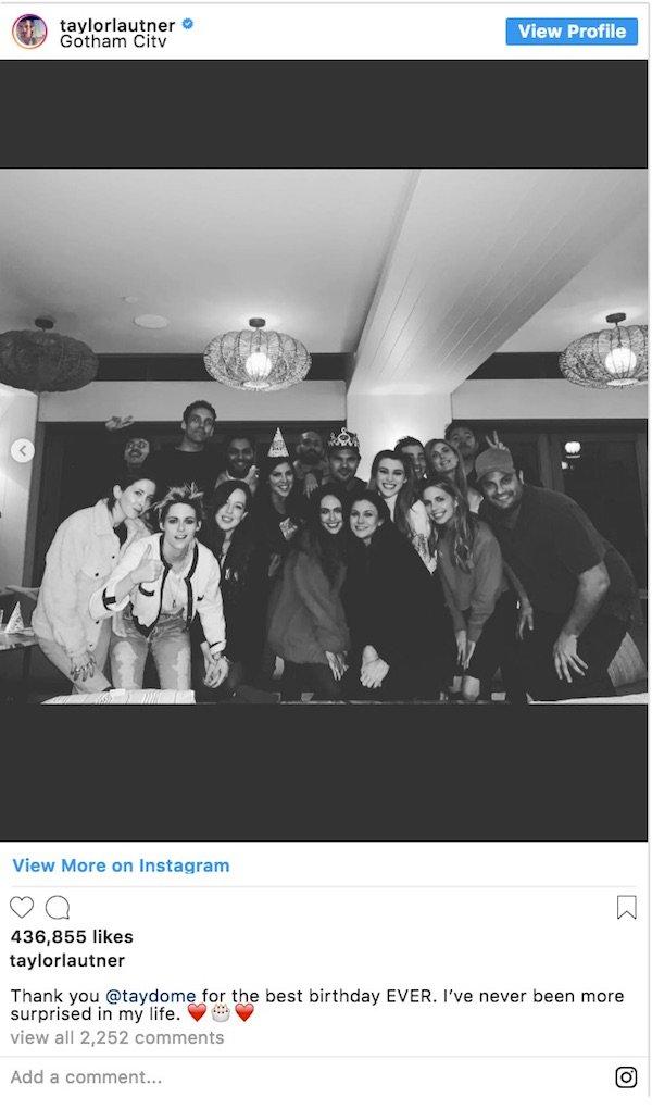 Twilight reunion Instagram post