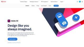 Adobe XD Website