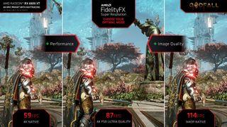 AMD FidelityFX Super Resolution slide deck