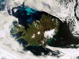 Earth from Space Iceland 1000