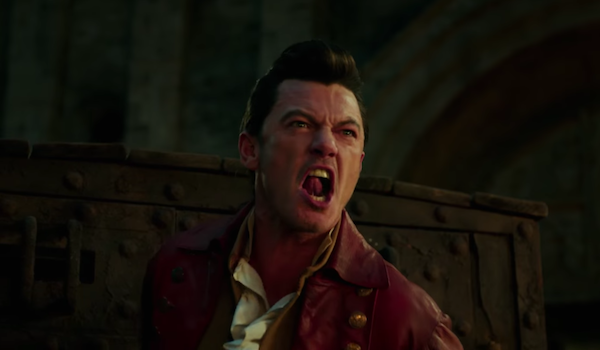 Beauty and the Beast Gaston yelling