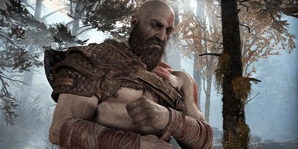 Kratos, in God of War.