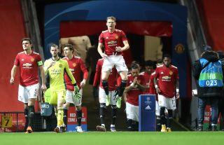 Manchester United v Paris Saint Germain – UEFA Champions League – Group H – Old Trafford