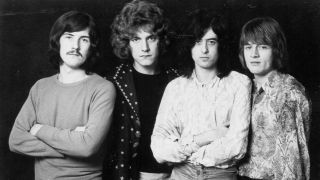 Led Zeppelin in 1968