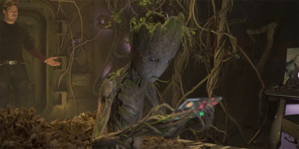 Groot Guardians of the Galaxy Vol 2 Post Credits