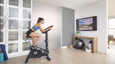 Nautilus U618 Upright Exercise Bike review
